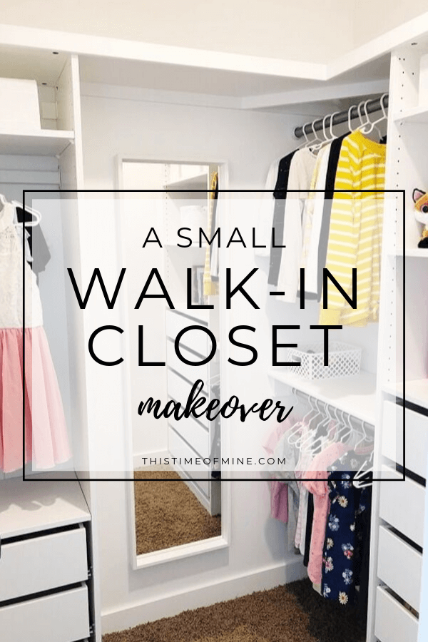 Small Walk In Closet Makeover Using Ikea Pax This Time Of Mine